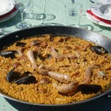 Paella. Gastronomia deltaica